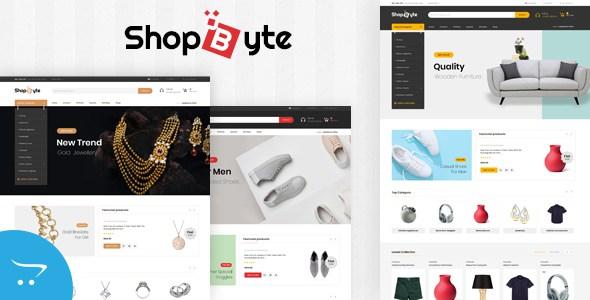ShopByte - Multipurpose OpenCart 3.x Responsive Theme        TFx Raynard Mackenzie