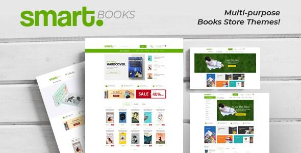 SmartBook - eBooks , Bookstore Shopify Theme        TFx Bodhi Marcus