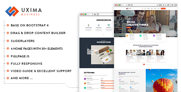 Uxima - Responsive Multipurpose Business Drupal 8.6 Theme        TFx Stafford Cameron