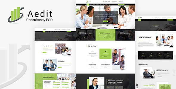 Aedit | Consultancy PSD Template        TFx Jeffry Sylvester