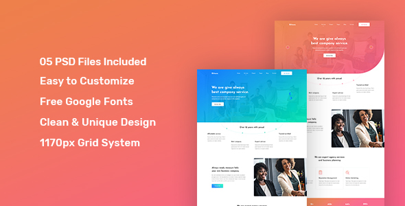 Bexts - Corporate PSD Template        TFx Courtney Norris