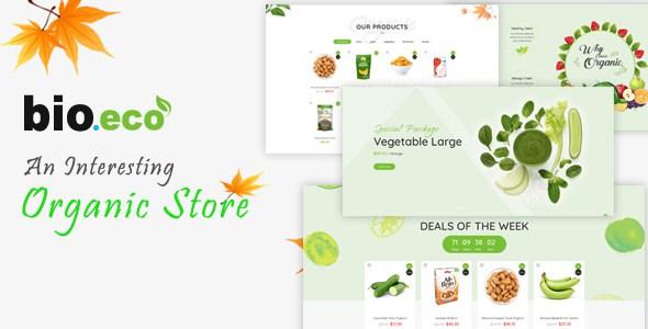 BioEco - An Interesting Organic Store Prestashop Themes        TFx Shikoba Yorick
