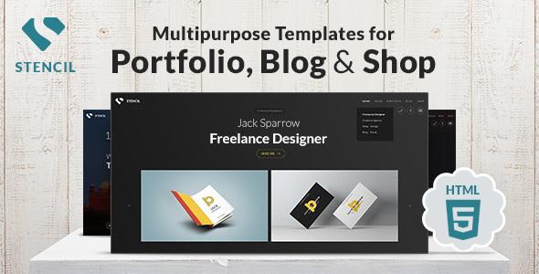 Stencil - Creative Multi-Purpose HTML Theme        TFx Kenshin Kadek
