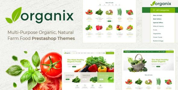 Themes Organix Responsive Prestashop 1.7        TFx Christian Val