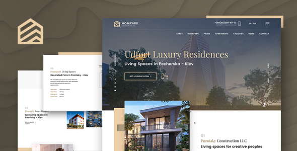 Hompark | Real Estate & Luxury Homes Theme        TFx Isaac Ralph