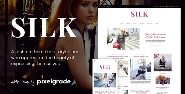 Silk - A Fashion Blogging WordPress Theme        TFx Darius Hideyoshi