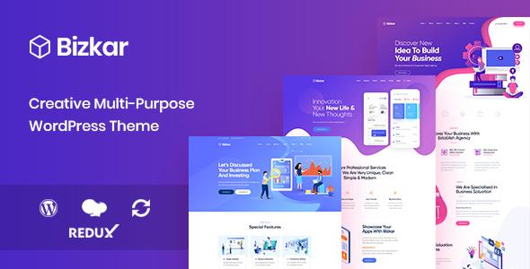 Bizkar - Creative Multipurpose WordPress Theme        TFx Gerard Ara