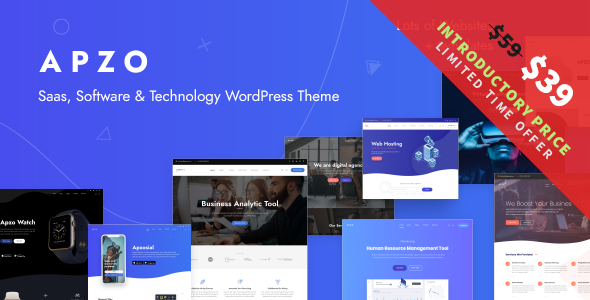 Apzo - Software Saas WordPress        TFx Lucian Lewin