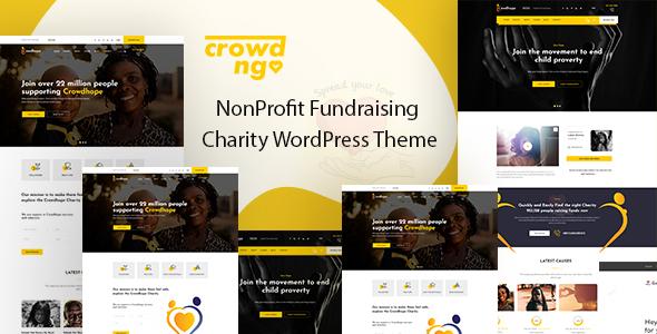 Crowdngo – Fundraising Charity WordPress Theme        TFx Trey Dean