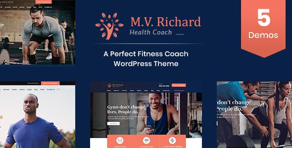 MV Richard - Health and Fitness WordPress Theme        TFx Alden Hiawatha