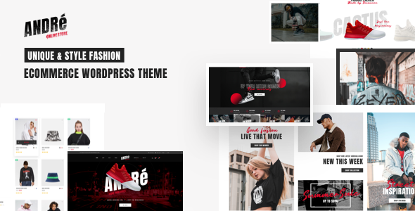 Andre - Street Style Sports amp Gym WooCommerce Theme TFx ThemeFre