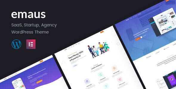 Emaus  SaaS App and Startup WordPress Theme TFx Jocelyn Francis