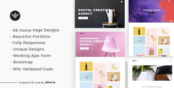 Avax - Creative Portfolio WordPress Theme TFx ThemeFre
