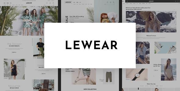 Lewear - Multipurpose WooCommerce Theme TFx ThemeFre