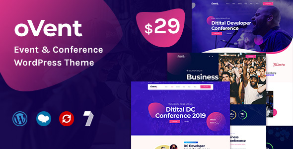 Ovent - Event Conference WordPress Theme TFx ThemeFre