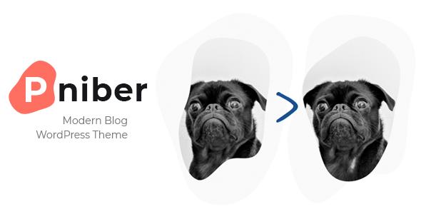 Pniber  Modern Blog WordPress Theme TFx ThemeFre