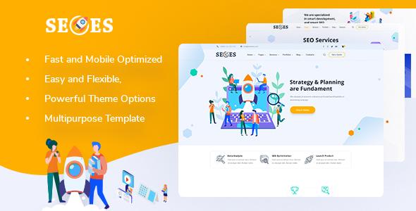 Seoes - Marketing Agency WordPress Theme TFx ThemeFre