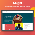 Suga – Magazine and Blog WordPress Theme TFx ThemeFre