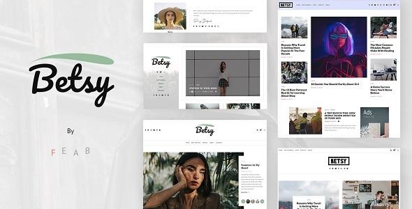 Betsy - A Clean WordPress Blog Theme TFx ThemeFre