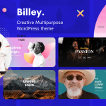 Billey – Creative Multipurpose WordPress Theme TFx ThemeFre