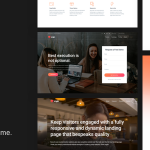 Engin – Multipurpose Landing Page WordPress Theme TFx ThemeFre
