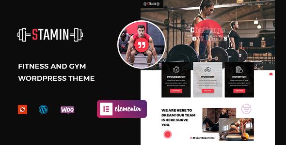 Stamin - Fitness and Gym WordPress Theme TFx ThemeFre