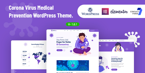 Korisna - Coronavirus Medical Prevention WordPress Theme TFx ThemeFre