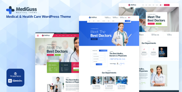 Mediguss - Medical amp Health Care WordPress Theme TFx ThemeFre