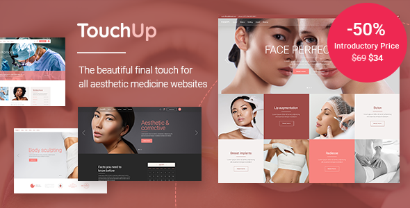 TouchUp - Cosmetic and Plastic Surgery Theme TFx ThemeFre
