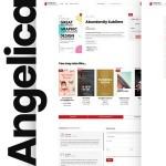 Angelica – Accessible Bookstore WordPress theme TFx ThemeFre