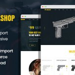 Armashop – Guns and Ammo WooCommerce theme TFx ThemeFre