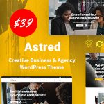 Astred – Modern Multi-Purpose WordPress Theme TFx ThemeFre