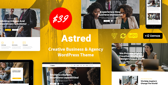 Astred - Modern Multi-Purpose WordPress Theme TFx ThemeFre