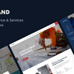 Estand  Home Maintenance WordPress Theme TFx ThemeFre