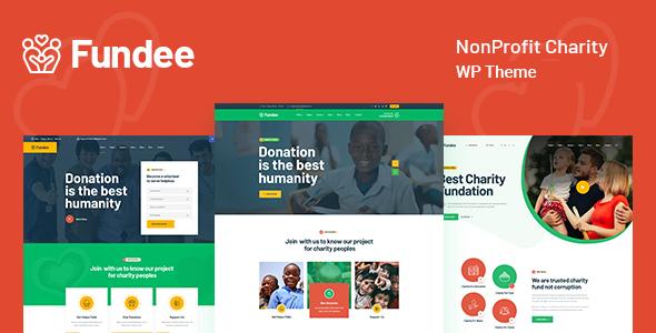 Fundee - NonProfit Charity WordPress Theme TFx ThemeFre