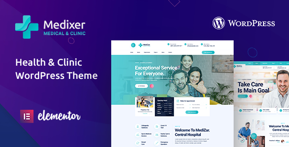 Medixer  Health amp Clinic WordPress Theme TFx ThemeFre