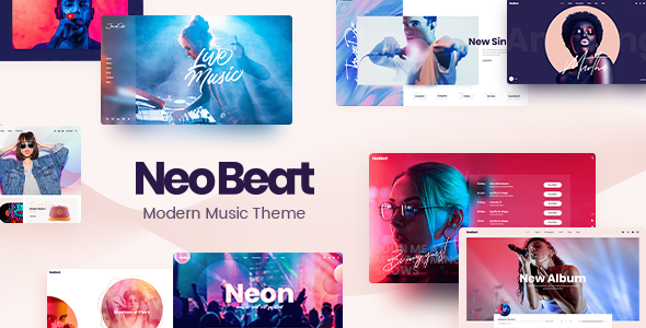 NeoBeat - Music WordPress Theme TFx WordPress ThemeFre