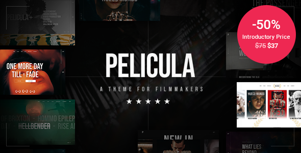 Pelicula - Video Production and Movie Theme TFx ThemeFre