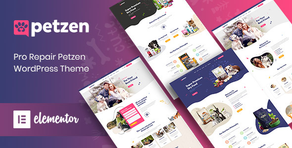 Petzen - Pet Care Center WordPress Theme TFx ThemeFre