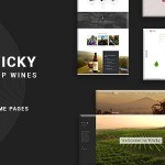 Wicky  Wine Shop WooCommerce Theme TFx WordPress ThemeFre