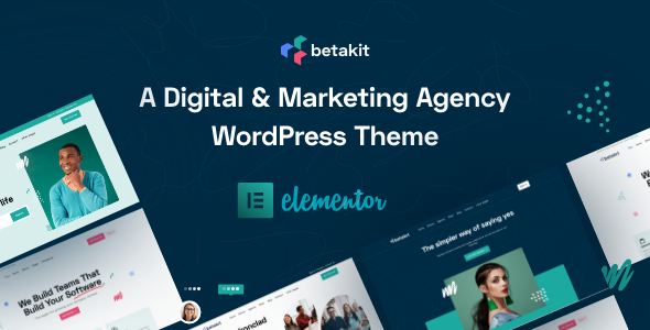 Betakit - Digital amp Marketing Agency Theme TFx ThemeFre