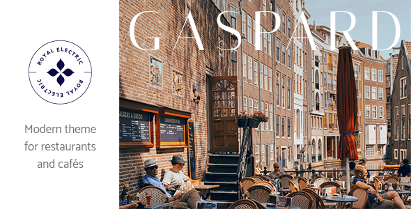 Gaspard - Restaurant and Coffee Shop Theme TFx ThemeFre