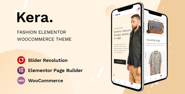 Kera - Fashion Elementor WooCommerce Theme TFx ThemeFre