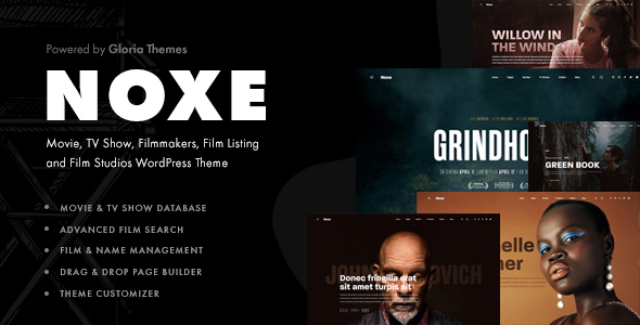 Noxe - Movie Studios and Filmmakers Theme TFx ThemeFre