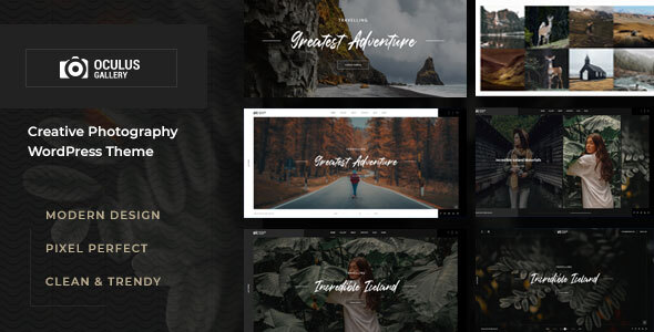 Oculus - Photography WordPress Theme TFx ThemeFre