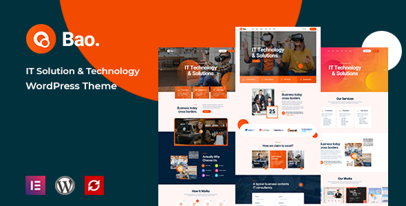Bao - IT Solutions amp Services WordPress Theme TFx ThemeFre