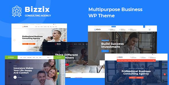 Bizzix - Multipurpose Business WordPress Theme TFx ThemeFre