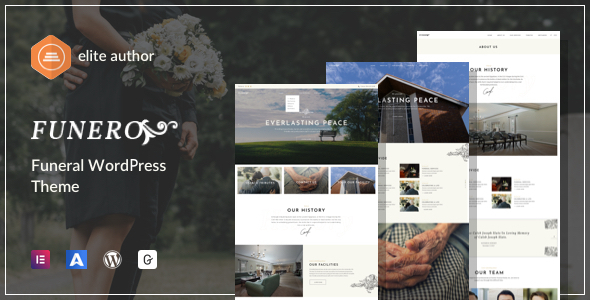 Funero - Funeral Services amp Cremation WordPress TFx ThemeFre