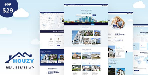 Houzy - Real Estate WordPress Theme TFx ThemeFre