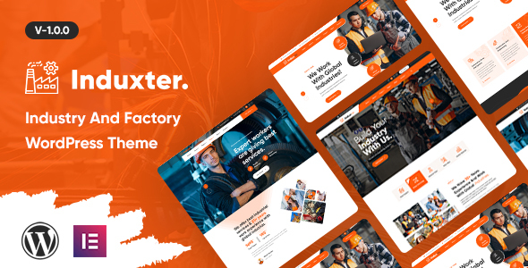 Induxter - Industry And Factory WordPress Theme TFx ThemeFre